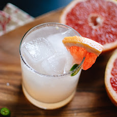 Serrano-Spiced Paloma Cocktail
