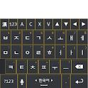 도돌 키보드 테마(Navy n Yellow) icon