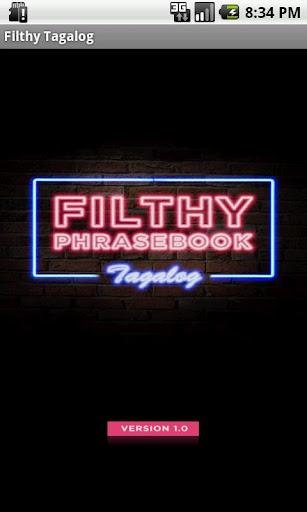 Filthy Phrasebook Tagalog