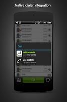 Screenshot of call Romania: cheap calls