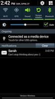 Screenshot of Fake SMS / Text Message Prank