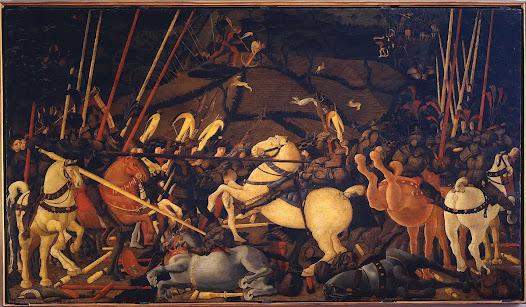 Uccello Paolo, Battaglia di San Romano