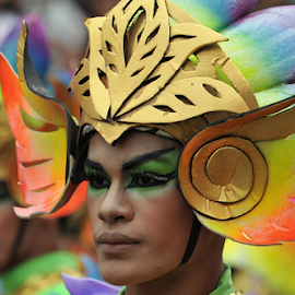 Sinulog 2014 COntigent by Ferdinand Ludo - News & Events World Events ( parade, contigent, sinulog, contestant, 2014, cebu, philippines )