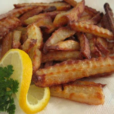 Oven Baked Patates Tiganites (French Fries) 3 Variations Fried /