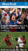 Screenshot of Miami Herald