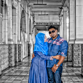 Malay wedding by Iz Fotografi Art Works - Wedding Bride & Groom ( melayu, wedding, malay, pengantin, malaysia )