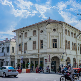 World Heritage Site by GOONER DS - City,  Street & Park  Historic Districts ( georgetown, penang, old town, malaysia, world heritage site )