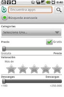 Screenshot of Bubiloop App Recommender