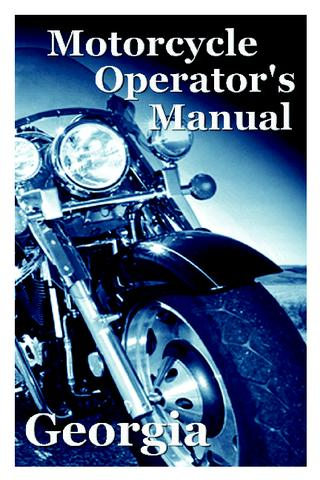 Georgia Motorcycle Manual