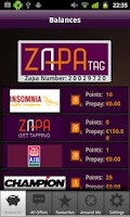 Screenshot of Zapa Tag