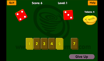 Screenshot of Barshot - Shut the Box