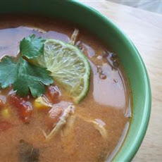 Slow Cooker Chicken Tortilla Soup