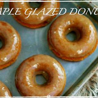 Maple Glaze Donuts (grain, gluten and refined sugar free, paleo)