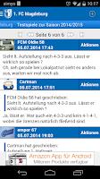 Screenshot of 1. FC Magdeburg