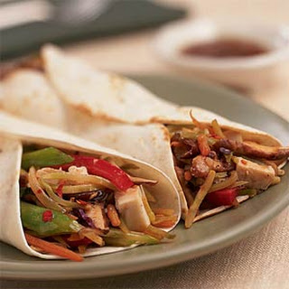 Stir-Fried Moo Shu Vegetable Wraps