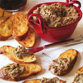 Kosher Revolution's Chicken Liver Crostini
