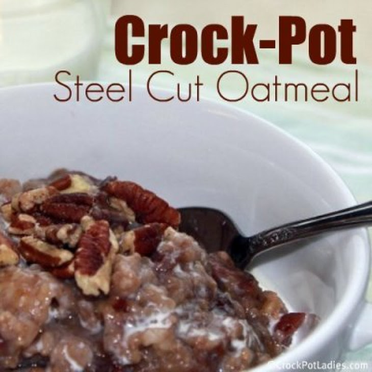 Steel-Cut Oats In The Crockpot And Steel-Cut Oats With Agave And ...
