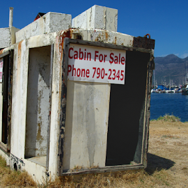 Abandoned by Tobie Oosthuizen - Buildings & Architecture Other Exteriors ( hout bay, for sale, ship, container, harbour )
