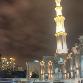 My Masjid Wilayah by Syahrul Nizam Abdullah - Buildings & Architecture Places of Worship