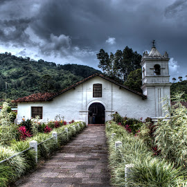 Orosí Church by Andro Zeledón - Buildings & Architecture Public & Historical ( orosi, building, old, church, iglesia, colonial, cartao, costa rica, historical )