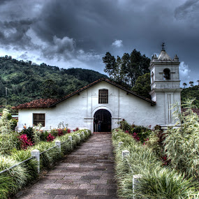 Orosí Church by Andro Zeledón - Buildings & Architecture Public & Historical ( cartago, orosi, old, building, iglesia, church, costa rica, colonial, historical, andro )