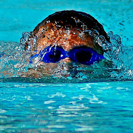 Goggles by Derrill Grabenstein - Sports & Fitness Swimming