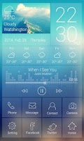 Screenshot of Venus GO Launcher Live Theme