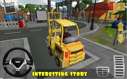 Forklift bang Simulator 3d - screenshot