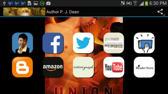 Author P. J. Dean - screenshot