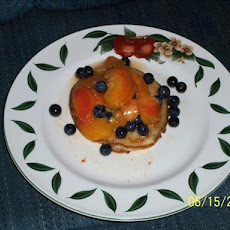 Fresh Peach and Blueberry Compote