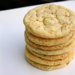Lime Zest Sugar Cookie Recipes
