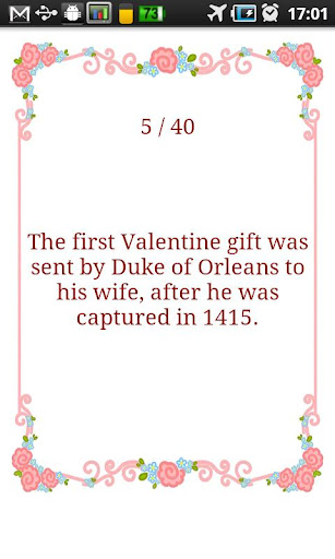 【免費娛樂App】Valentine's Day Fun Facts-APP點子