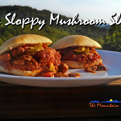 Spicy Sloppy Mushroom Sliders