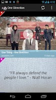 Screenshot of One Direction – Videos, Pics