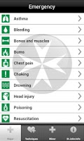 Screenshot of St John Ambulance First Aid
