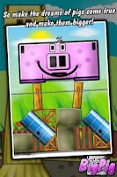 Screenshot of Big Pig - physics puzzle game