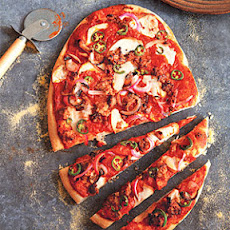 Smoky, Spicy Pizza