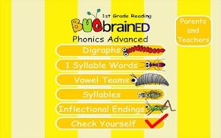 Screenshot of Phonics Advanced