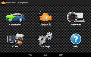 Screenshot of E OBD2 Facile -Car Diagnostics