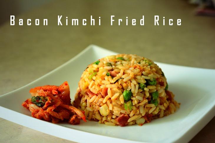 Bacon And Kimchi Fried Rice Recipes — Dishmaps