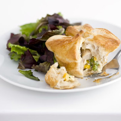 Chicken & Sweetcorn Pies