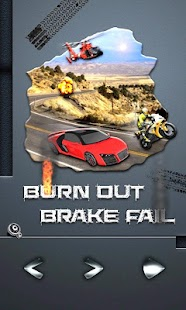 BURN OUT BRAKE FAIL ! - screenshot