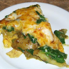 Leek, Potato & Spinach Frittata