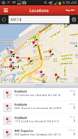 Screenshot of KeyBank Mobile