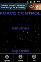 Screenshot of Force Control Free
