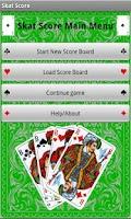Screenshot of Skat Score