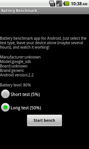 Battery Benchmark