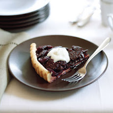 Black Mission Fig Tart
