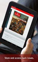 Screenshot of The Economist