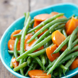 Sauteed Green Beans with Persimmons